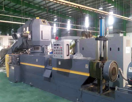 KRIEGER cutter compactor plastic recycling machine installed in Vietnam