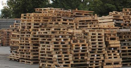 廢棄木棧板