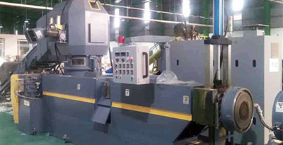 KRIEGER-100 / Máquina Cortadora Compactadora para Reciclaje de Plástico / Película PE / Vietnam
