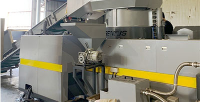 KRIEGER-150 / Cutter Compactor Plastic Recycling Machine / BOPP Film / Korea