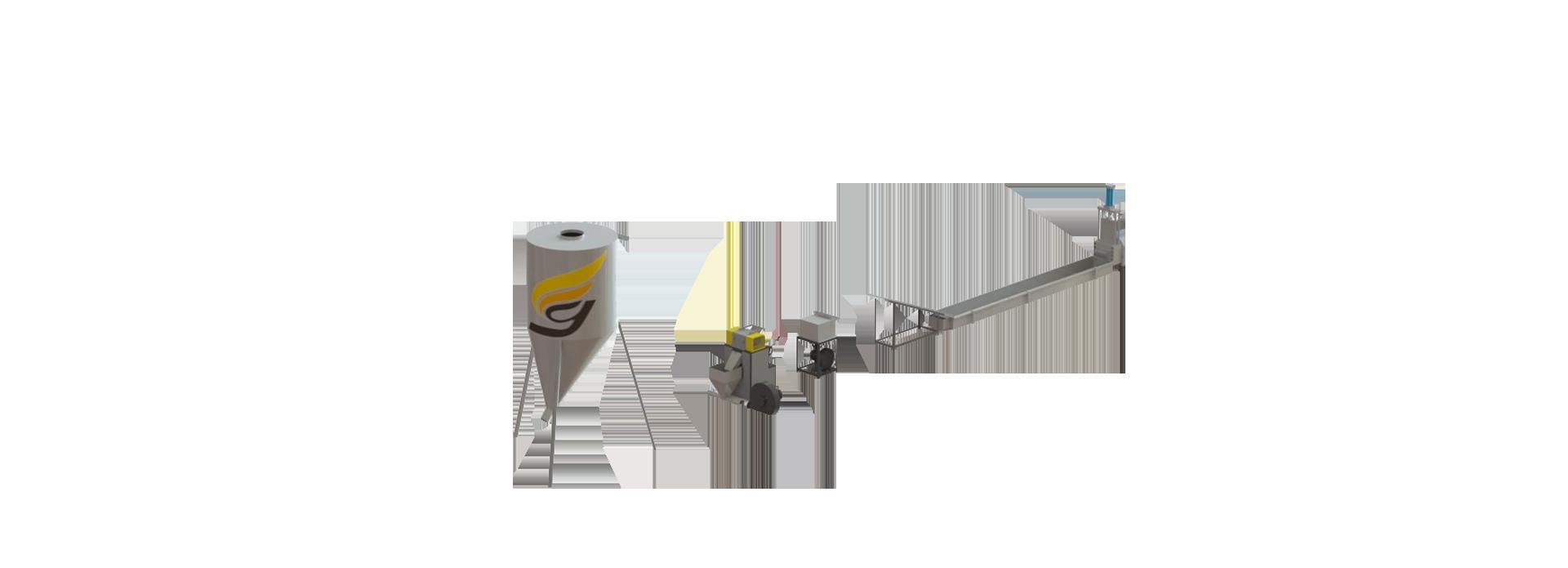 自動ストランド式ペレット化システム