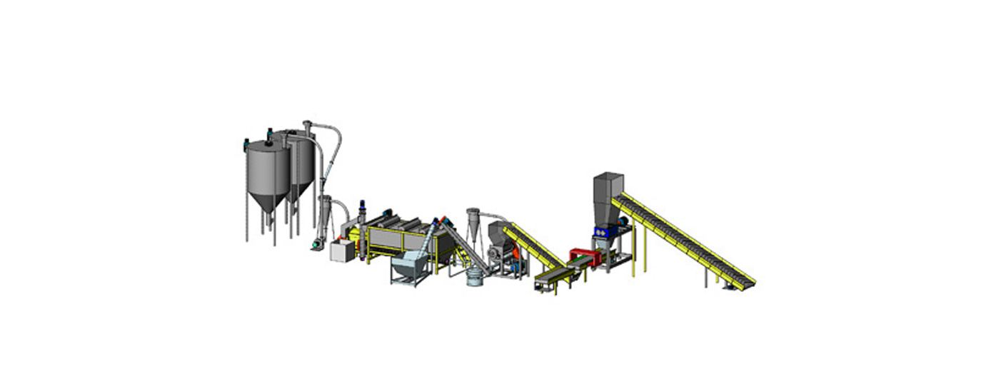 Plastic Rigid Washing Plant