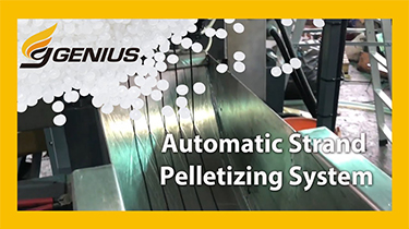 Automatic Strand Pelletizing System | PET Recycling