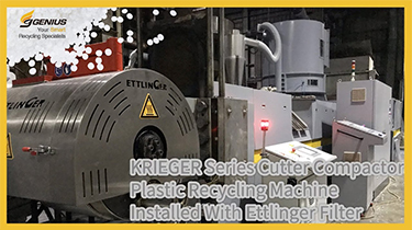 KRIEGER Series with Ettlinger Filter|HDPE Chemical Drum